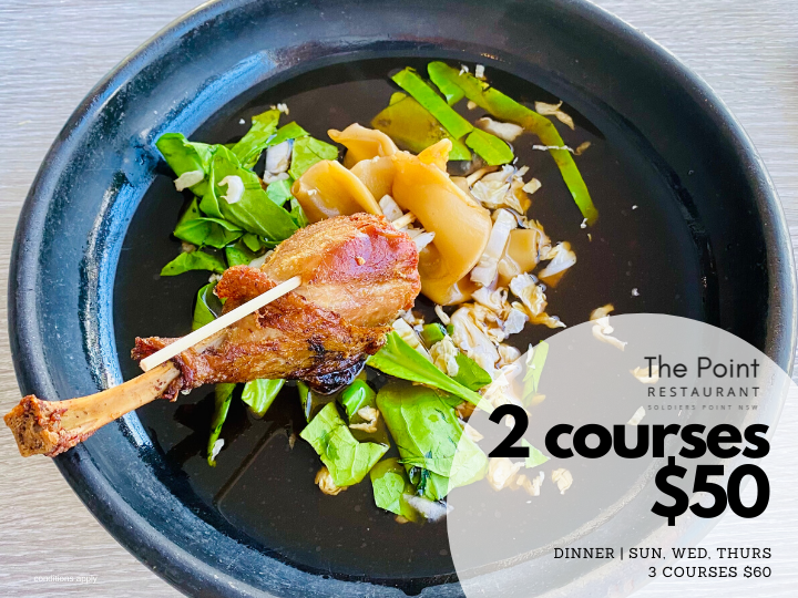 The Point 2 Courses $50
